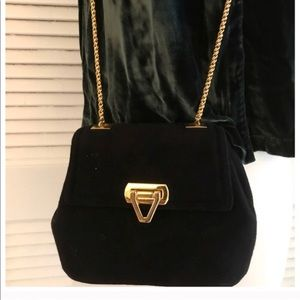 Frenchy Of California Vintage Purse w/ Gold Chain!